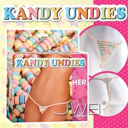 美國原裝進口PIPEDREAM.EDIBLE KANDY UNDIES糖果丁字褲-for HER(女用)